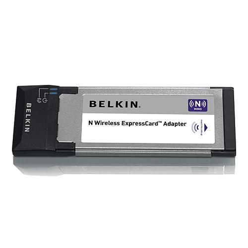 Belkin N Wireless ExpressCard Adapter