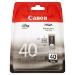 Canon PG-40 cartucho de tinta Negro