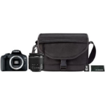 Canon EOS 2000D 18-55 DC + SB130 + 16GB Juego de cámara SLR 24,1 MP CMOS 6000 x 4000 Pixeles Negro