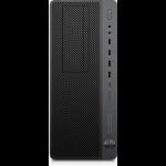 HP EliteDesk 800 G4 DDR4-SDRAM i7-8700 Tower 8th gen Intel® Core™ i7 8 GB 1000 GB HDD Windows 10 Pro Workstation Black, Grey
