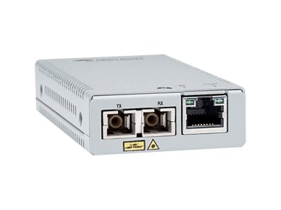 Allied Telesis AT-MMC2000LX/SC-TAA-60 network media converter 1000 Mbit/s 1310 nm Single-mode Silver