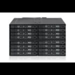 Icy Dock MB516SP-B disk array Black