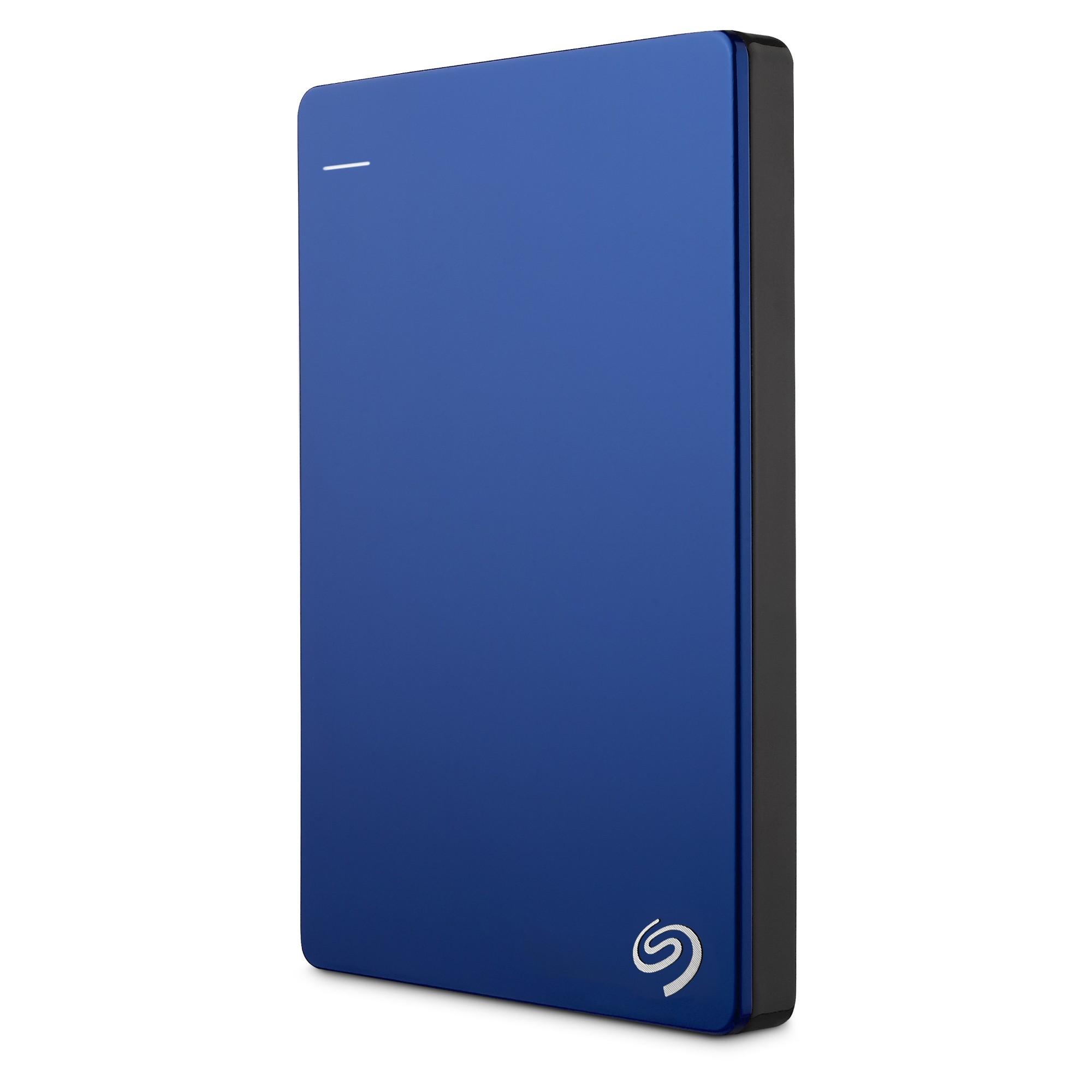 Seagate Backup Plus 2TB Slim Portable Drive, Blue