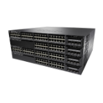 Cisco Catalyst WS-C3650-48PD-L netwerk-switch Managed L3 Gigabit Ethernet (10/100/1000) Zwart 1U Power over Ethernet (PoE)