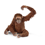 SCHLEICH Wild Life Female Orangutan Toy Figure (14775)