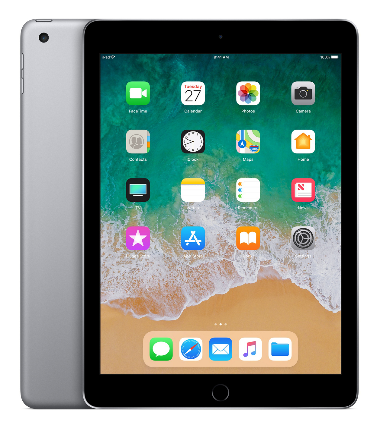 iPad 2018 - 9.7in - Wi-Fi - 128GB - Space Grey