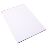 QUILL EXAM PAD RED MARGIN 90 LEAF A4 WHITE