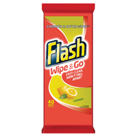 Flash computers WIPE AND GO LEMON 1 PK OF 40WIPES