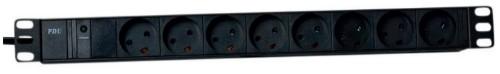 Lanview LVR261881D power distribution unit (PDU) 8 AC outlet(s) 1U Black