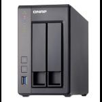 QNAP TS-251+ NAS Tower Ethernet LAN TS-251+-2G/2TB-RED
