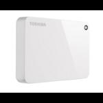 Toshiba Canvio Advance external hard drive 4000 GB White