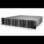 QNAP TVS-1271U-RP NAS Rack (2U) Ethernet LAN Black,Grey