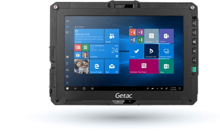 GETAC UX10 256 GB BLACK
