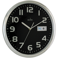 Acctim SUPERVISOR WALL CLOCK CHRM/BLACK