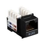 Black Box CAT6J-BK keystone module
