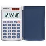 Sharp EL-243S calculator Pocket Basic Silver
