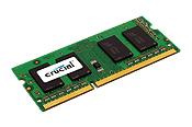Memory 4GB Kit (2gbx2) 204-pin SoDIMM DDR3 1600MHz Pc3-12800 (ct2kit25664bf160b)