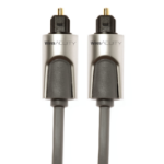 Techlink 720211 1m TOSLINK TOSLINK Grey fiber optic cable