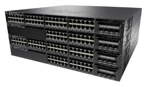 Cisco Catalyst WS-C3650-48TD-E network switch Managed L3 Gigabit Ethernet (10/100/1000) Black 1U