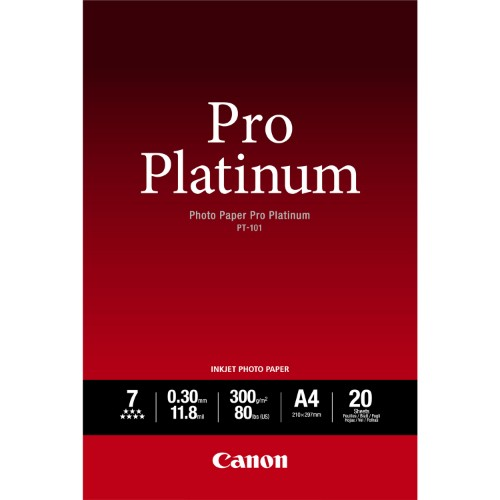 Canon PT-101 photo paper White High-gloss A2
