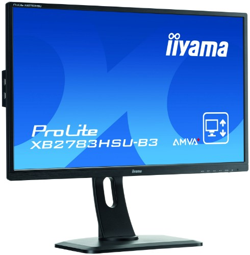"iiyama ProLite XB2783HSU-B3 computer monitor 68.6 cm (27"") Full HD LED Flat Matt Black"