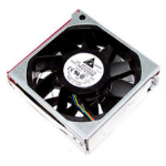 HP 449430-001 Computer case Fan 12 cm Black, Metallic