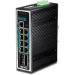Trendnet TI-PG1284i Gestionado L2+ Gigabit Ethernet (10/100/1000) Negro Energía sobre Ethernet (PoE)