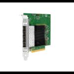 Hewlett Packard Enterprise Intel E810-XXVDA4 Ethernet 10/25Gb 4-port SFP28 Internal Ethernet / Fiber 25000 Mbit/s
