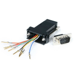 StarTech.com DB9 to RJ45 Modular Adapter - M/F