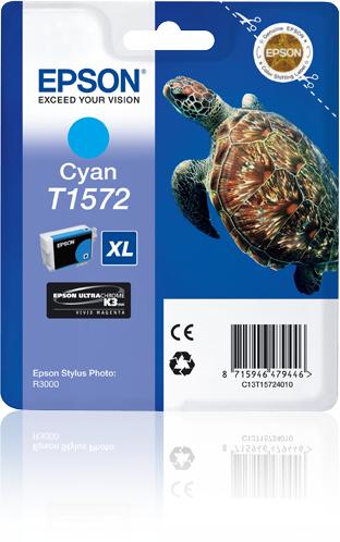 Epson Turtle T1572 Cyan