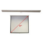 "Acer M87-S01MW 87"" 1:1 White projection screen"