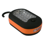 QVS FLH-27 Hand flashlight LED Black,Orange flashlight