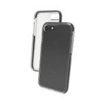 "ZAGG Piccadilly mobile phone case 11.9 cm (4.7"") Cover Black,Transparent"