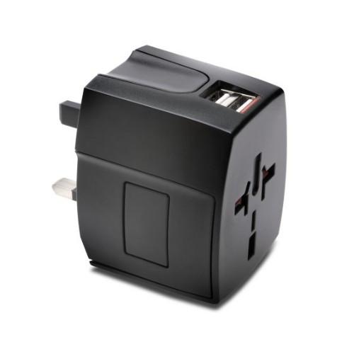 Kensington K33998WW power plug adapter Universal Black