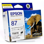 Epson UltraChrome Hi-Gloss2 Gloss Optimiser Cartridge Original Black