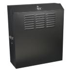 Tripp Lite SmartRack 5U Low-Profile Wall-Mount Rack Enclosure Cabinet - 20 in. max horizontal mounting depth