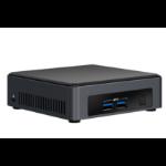 Intel NUC BLKNUC7I7DNK2E PC/workstation barebone i7-8650U 1.9 GHz UCFF Black BGA 1356