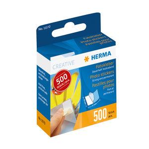 HERMA Photo stickers in cardboard dispender 500 pcs.