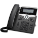 Cisco 7821 2lines Wired handset Black, Silver