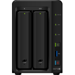 Synology DiskStation DS718+ Ethernet LAN Desktop Black NAS