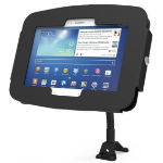 Maclocks Compulocks Galaxy Secure Space Enclosure with Flex Arm Kiosk Black - Mounting kit (anti-theft enclosure) - Tablet Not Included
