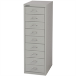 Bisley FF BISLEY 39/9 NON-LOCK MULTIDRAWER GREY