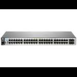 Hewlett Packard Enterprise Aruba 2530 48G PoE+ + 205 Instant Dual Radio 802.11ac (WW) Access Point Managed L2 Gigabit Ethernet (10/100/1000) Power over Ethernet (PoE) 1U Grey