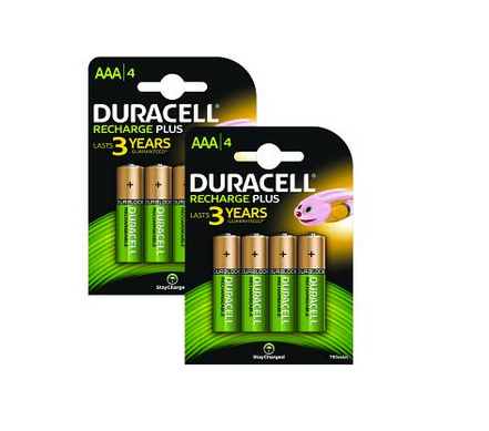 Duracell BUN0062A household battery Rechargeable battery Nickel-Metal Hydride (NiMH)