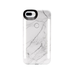 LUMEE DUO for iPhone Plus - White Marble