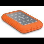 LaCie Rugged Triple 500GB Orange external hard drive