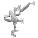 "Tripp Lite DDR1730TAL monitor mount / stand 30"" Clamp/Bolt-through Silver"