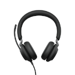 Jabra Evolve2 40, UC Stereo Headset Head-band USB Type-A Black