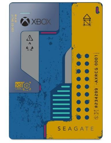Seagate Game Drive STEA2000428 external hard drive 2000 GB Blue, Yellow