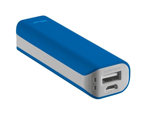 Trust Primo 2200 batería externa Azul 2200 mAh